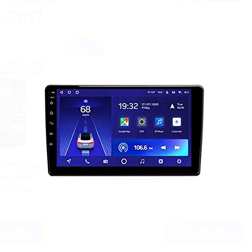 MIVPD Car Stereo Android 10.0 Radio para Peugeot 308 2013-2017 Navegación GPS Unidad Principal de 9 Pulgadas Pantalla táctil Reproductor Multimedia MP5 Receptor de Video con 4G WiFi SWC Carplay