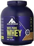 Multipower 100% Pure Whey Protein - Fino a 80% di Proteine del Siero del Latte - Proteine Isolate come Fonte Principale - 67 Porzioni - Per lo sviluppo Muscolare - 2 Kg - Caffè e Caramello
