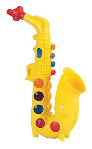 Small World Toys Preschool -Play At Home Saxophone B/O
