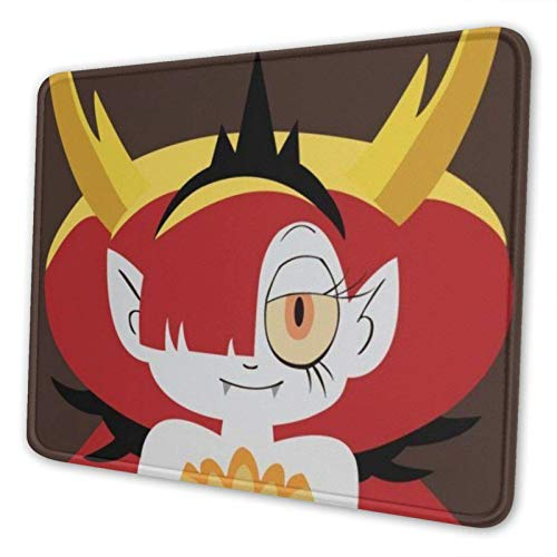 XCNGG Alfombrilla para ratón Star Vs. The Forces of Evil Mouse Pad Mat Gaming Unique Custom Mousepad, Computer Keyboard, Stitched Edges, Office Ideal for Desk Cover, Large Mouse Pats, Laptop and PC 8.