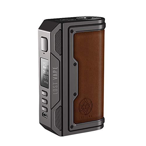 Lost Vape Thelema Box Mod 200 W, e-Zigarette - Akkuträger, gunmetal/calf leather