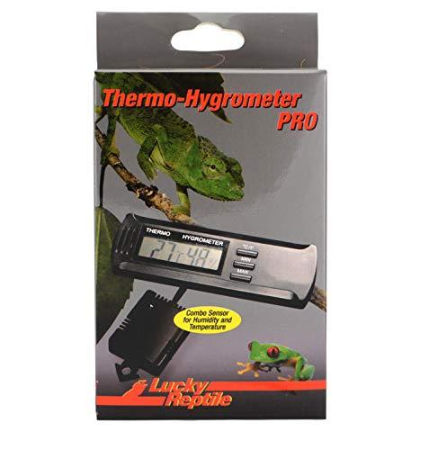 Lucky Reptile LTH-32 Thermometer und Hygrometer Pro, elektronisch mit Fernfühlern