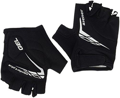 Ziener Kinder CANIZO junior Bike Glove Fahrrad-handschuh, schwarz (black), M