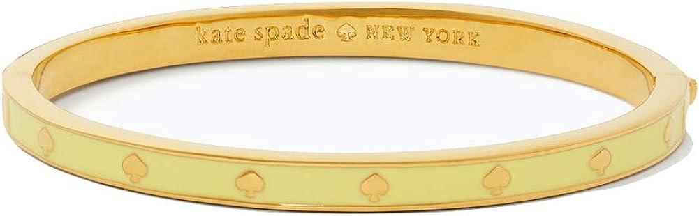 Kate Spade New York Spot The Spade Bangle Bracelet (Yellow)