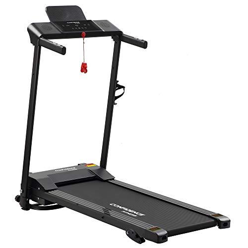 Confidence Fitness Ultra 200 Treadmill Electric Motorised Running Machine Black