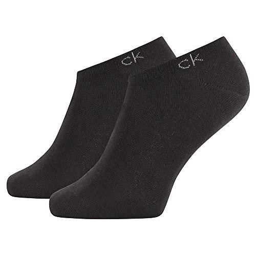 Calvin Klein Socks Mens Herren Sneakersocken ECP250G, Schwarz, 43/46 Socks, Black, 39/42