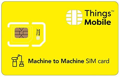 SIM M2M con copertura globale e rete multi-operatore GSM/2G/3G/4G LTE, senza costi fissi, senza...