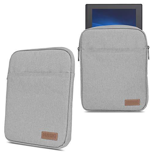 NAmobile Schutz Hülle kompatibel für Lenovo IdeaPad Duet Chromebook 2-in-1 Tablet Tasche Hülle Schutzhülle Sleeve Cover 10.1 Zoll Case, Farbe:Grau
