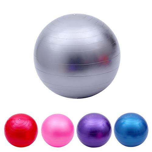 TIAS Gymnastikball, Yoga-Ball-Stuhl, extra Dicker, professioneller Balance- und Stabilitätsball, Anti-Burst-Test unterstützt 2200 Pfund, mit Schnellpumpe