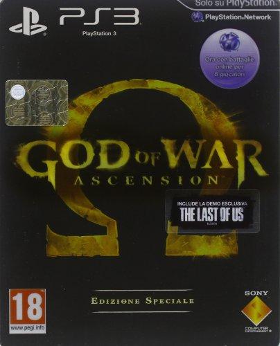 PS3 GOD OF WAR ASCENSION SPECIAL ED