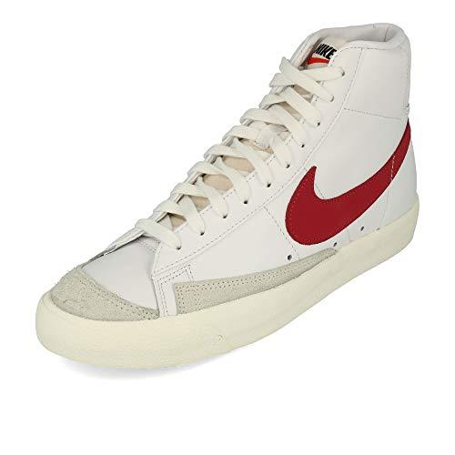 Nike Blazer Mid '77 VNTG, Zapatillas de básquetbol Hombre, White/Worn Brick/Sail, 36.5 EU