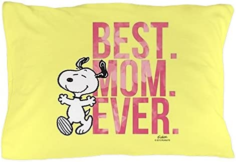 CafePress Snoopy Hapiness Is Dad Full Bleed Pillow Case 1926350281