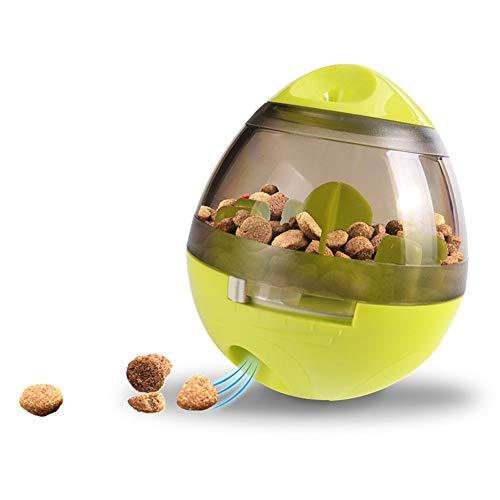 Ironhead Becher Haustier Spielzeug Automatische Fütterung Hund Futter Bälle Hund Snacks Futter Spiller Katze Hund Leckage Futterball Transparent Grün
