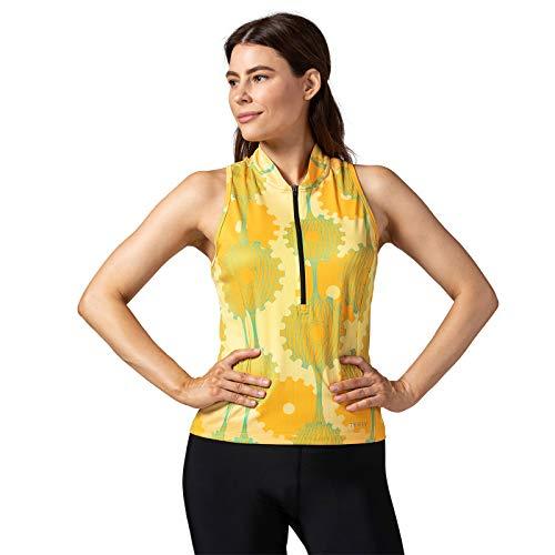 Terry Sun Goddess – Women's Sleeveless Jersey-Retrogear/Yellow – L