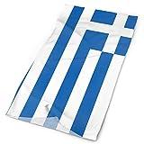 Quintion Robeson Deporte al Aire Libre Pañuelo multifunción Bandera de Grecia Estiramiento Diadema mágica Diademas Deportivas para Montar a...
