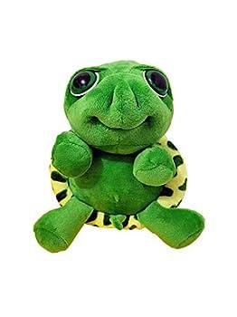 Big Eyes Stuffed Turtle Animals Adorable Cute & Warm Sea Tortoise Toys  28cm Green