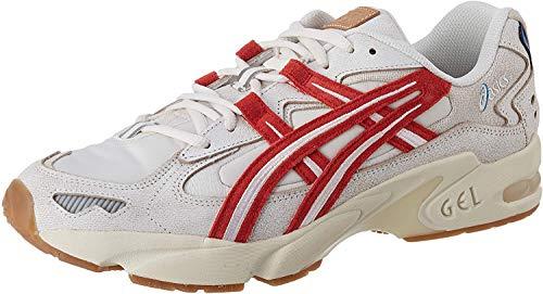 Asics Gel-Kayano 5 OG, Zapatillas de Running para Hombre, Beige/Rojo Brillante, 44 EU