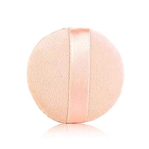 5pcs / lot Fondation éponge Powder Puff Tapis visage Taille ronde Outils Femmes Beauté Maquillage Portable Outil cosmétique