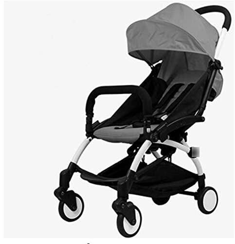 ZHYLing Cochecito de bebé Original Cochecito de Viaje 5.8kg Carriaje liviano de bebé Europa Carrito Infantil Buggy Portátil bebé PRAM (Color : 2)