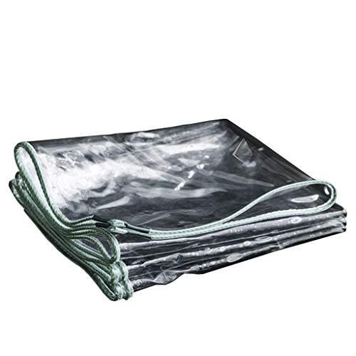 GQF Resistente Lona Transparente Impermeable Espesar Lona Coche Cubierta de la Lluvia...