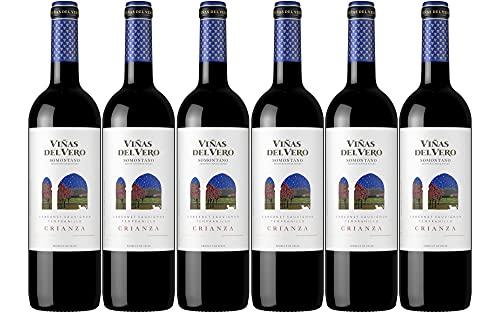 Viñas Del Vero Crianza - Vino D.O. Somontano - 6 botellas de 750 ml - Total: 4500 ml