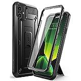 SUPCASE iPhone 11 ケース 6.1インチ 2019 液晶保護フィルム 腰かけクリップ付き 米国軍事規格取得 耐衝撃 防塵 全面保護 UBProシリーズ