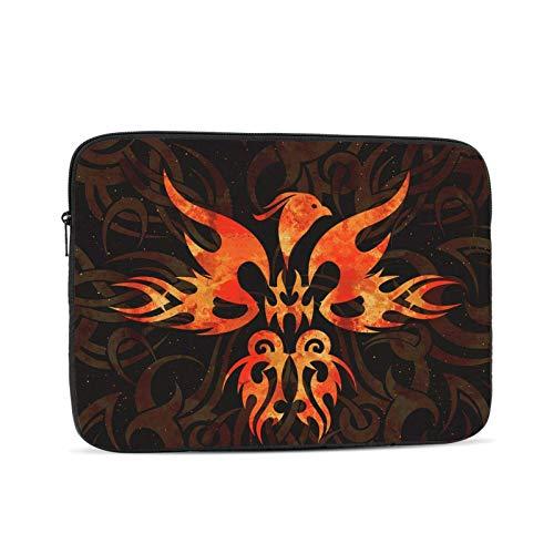 Fire Phoenix Bird Lioudmila - Funda para portátil, Funda Protectora para maletín, Bolso de Transporte para Netbook Ultrabook para Mujeres y Hombres, 12 Pulgadas
