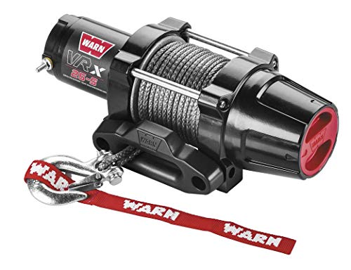 Fantastic Deal! New Warn VRX 2500 lb Winch With Synthetic Rope & Model Specific Mounting Hardware - ...