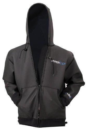 Hyperflex playa Surf Jacket, Black, Large–Surfing, Windsurfing & wakeboarding by Hyperflex