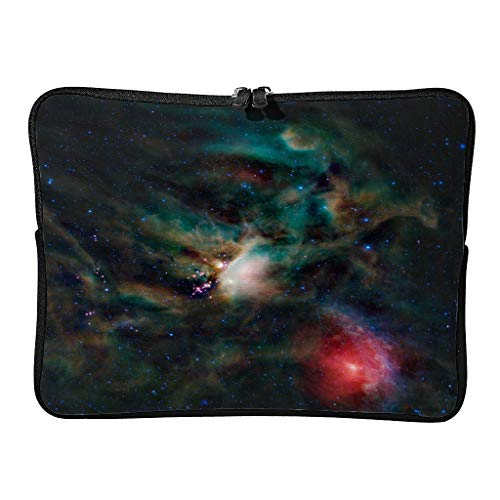 Regular Laptop Bags Pattern Lightweight - Space Laptop Case Suitable for Professional Travel white15 12 Zoll