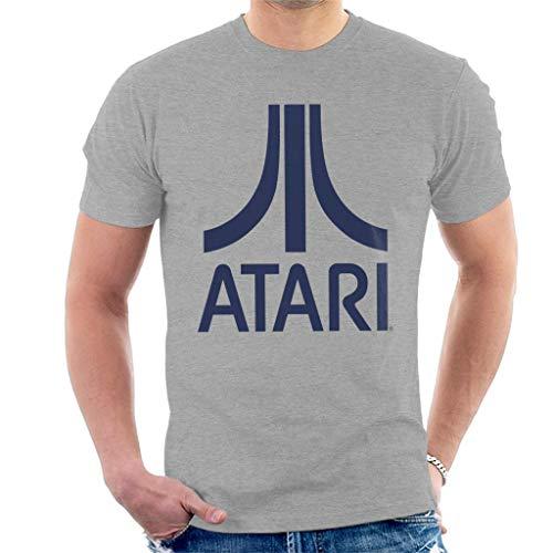 Atari Navy Logo Men's T-Shirt