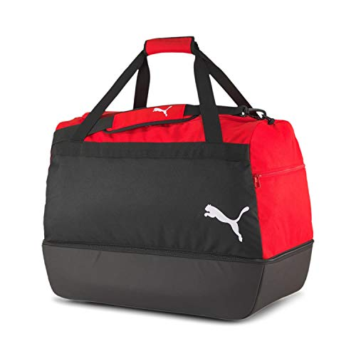 Puma teamGOAL 23 Teambag M BC (Boot Compartment), Borsone Unisex-Adult, Red Black, OSFA