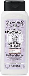 J.R.Watkins Daily Moisturizing Lavender Body Wash, 18 Ounces