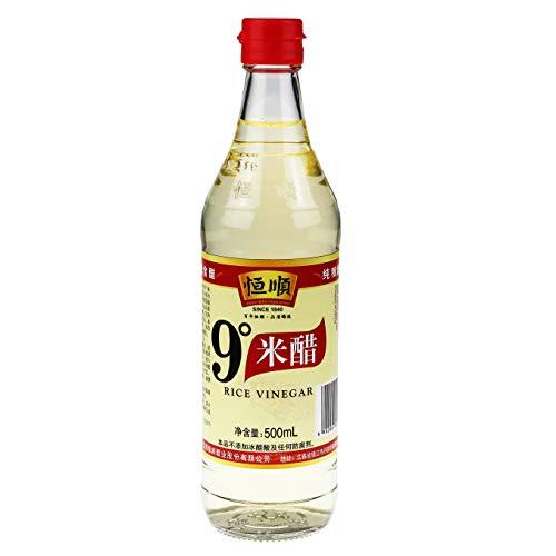 Heng Shun Vinaigre de riz blanc, 500 ml, 12 pièces