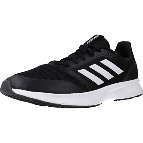 adidas Herren Nova Flow Turnschuh, Core Black/Footwear White/Grey, 44 2/3 EU