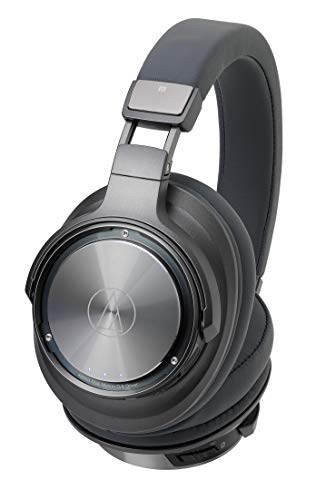 Auscultadores Bluetooth AUDIO TECHNICA ATH-DSR9BT (Over Ear - Microfone - Preto)