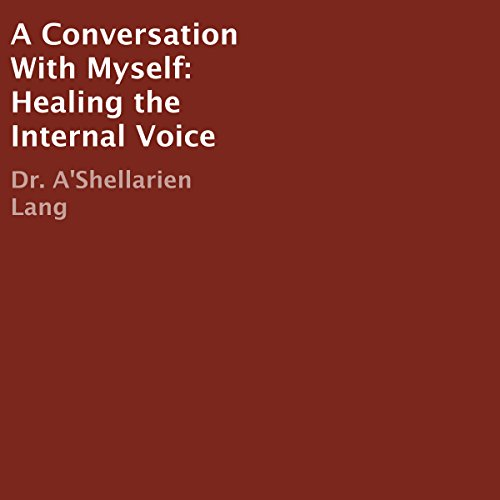 A Conversation with Myself audiobook cover art