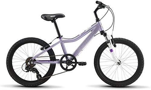 "Diamondback Bicycles Lustre 24 Youth Girls 24"" Wheel Mountain Gike, Blue"