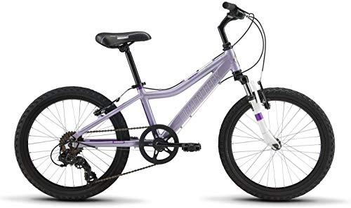Diamondback Bicycles Lustre 20 Youth Girls 20' Wheel Mountain Bike, Purple