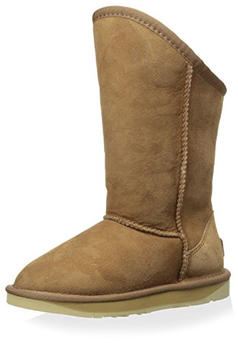 Australia Luxe Collective Kid's Cosy Tall Boot, Chestnut, 10 M US Toddler