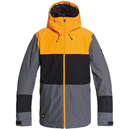 Quiksilver Sycamore - Chaqueta de snowboard aislada para hombre - gris - Medium