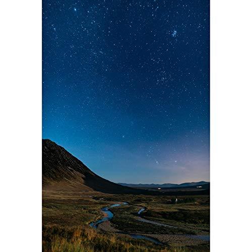 Rompecabezas Starry Sky Series De Madera High Dciesty Creativo Descompresión Intelectual Desafío Intelecto Juguetes Adultos Niños 500/1000/1500/2000 Piezas (Color : No partition, Size : 500 pcs)
