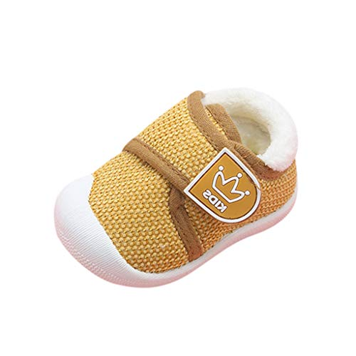 Luckycat Antideslizante Zapatos Niños Niñas Zapatos Bebé Primeros Pasos Infantil Bebé Niña Niño Zapatos de Cuna de Suela Blanda Sneaker Zapatilla de Recién Nacido Zapatilla de Deporte