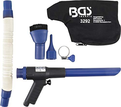 BGS 3292 | Druckluft-Saug- / Blaspistole | umschaltbar | 9-tlg.