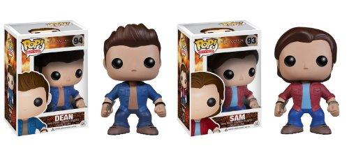 Funko-Supernatural Sam et Dean Pop TV Figurine en vinyle Combo