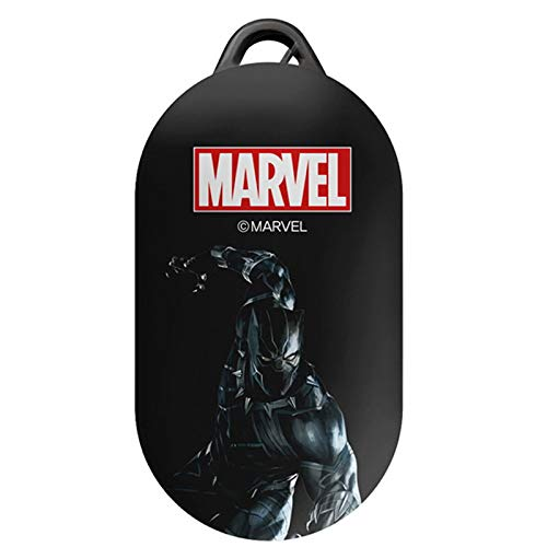 DMK Action Hero Case Cover for Samsung Galaxy Buds/Buds+ Plus with Avengers Character (Black Panther)