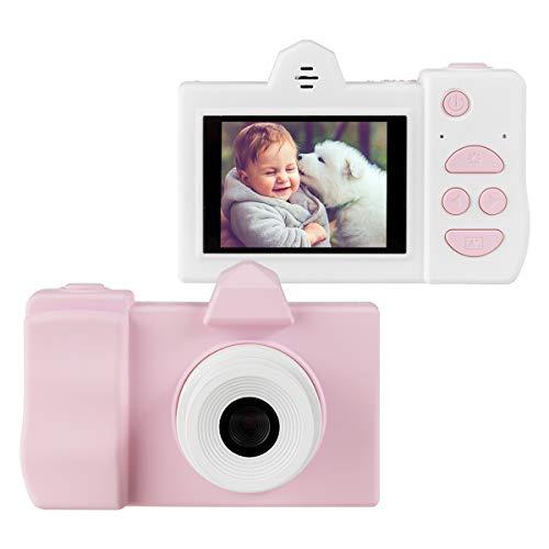 COSTWAY Cámara Fotos para Niños de 18MP 720P Pantalla de 2 Pulgadas Tarjeta de Memoria de 16GB Videocámara Digital Juguete para Niños de 3 a 10 Años