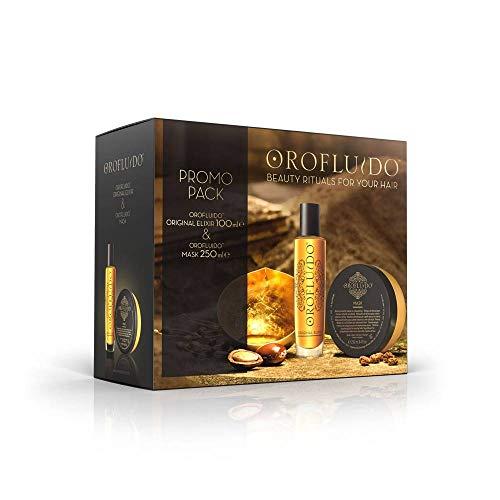 Revlon oro fluido pack (mask + elixir)
