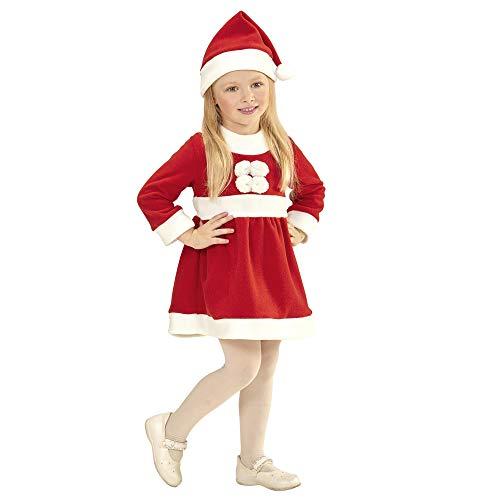 WIDMANN Disfraz de mamá Noel Talla 1-2 años