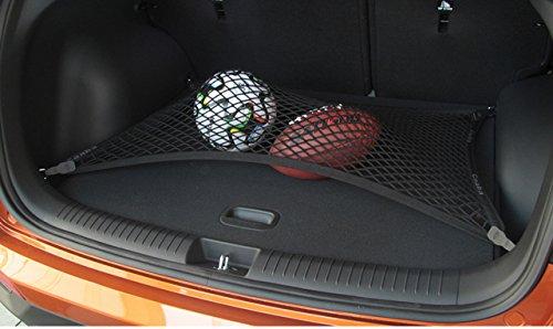 pegasuss Noir en maille filet Organiseur de coffre de rangement Cargo Net SUV au sol pour Lincoln MKX